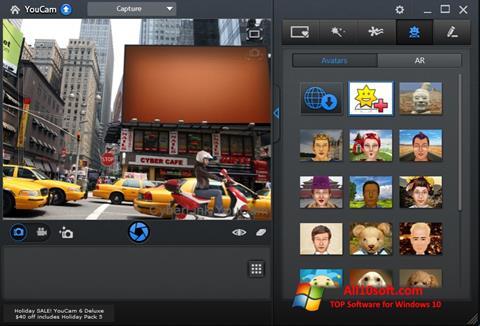 Screenshot CyberLink YouCam per Windows 10