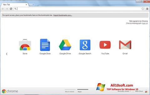 Screenshot Google Chrome per Windows 10