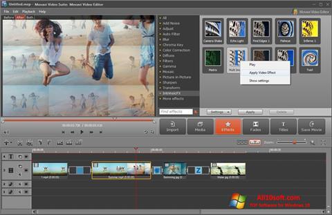 Screenshot Movavi Video Suite per Windows 10