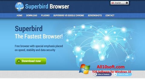 Screenshot Superbird per Windows 10