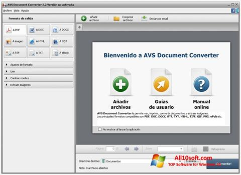 Screenshot AVS Document Converter per Windows 10