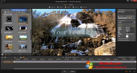 Screenshot Pinnacle Studio per Windows 10