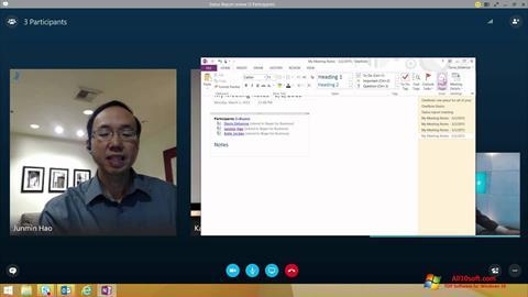 Screenshot Skype for Business per Windows 10
