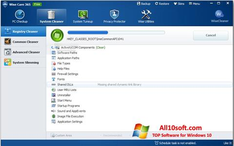 Screenshot Wise Care 365 per Windows 10