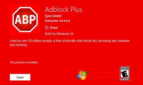 Screenshot Adblock Plus per Windows 10